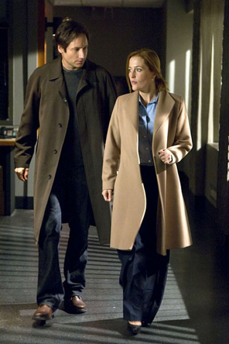 X Files - Régénération : Photo David Duchovny, Gillian Anderson