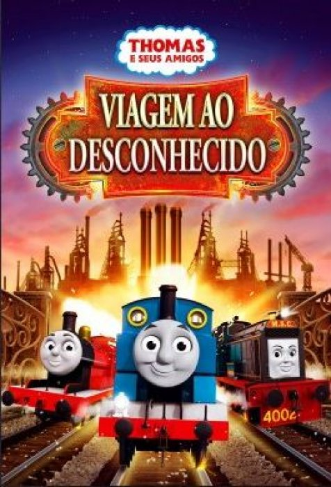 Thomas & Friends: Journey Beyond Sodor : Affiche