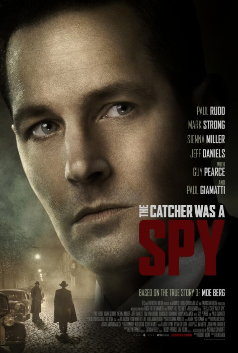 The Catcher Was a Spy : Affiche
