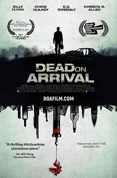 Dead On Arrival : Affiche