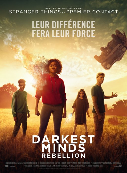 Darkest Minds : Rébellion : Affiche