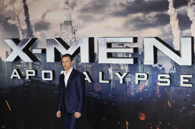 X-Men: Apocalypse : Photo promotionnelle James McAvoy