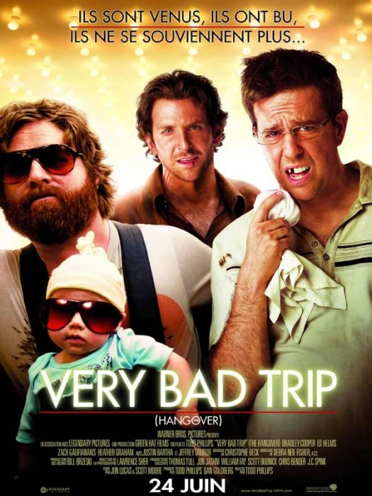 Very Bad Trip : Affiche Todd Phillips