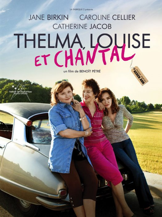 Thelma, Louise et Chantal : Affiche