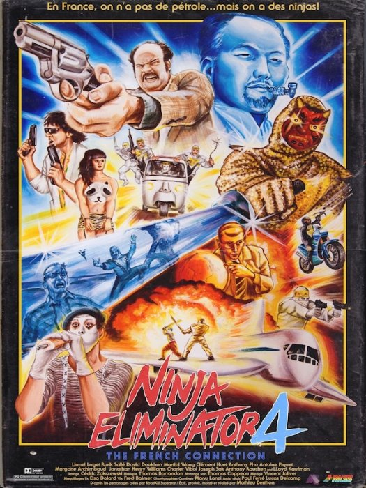 Ninja Eliminator 4: The French Connection : Affiche