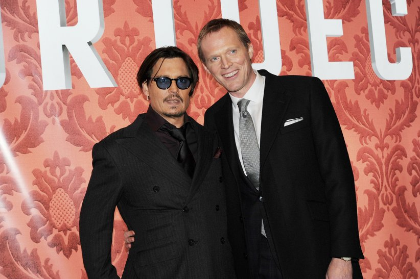 Charlie Mortdecai : Photo promotionnelle Johnny Depp, Paul Bettany
