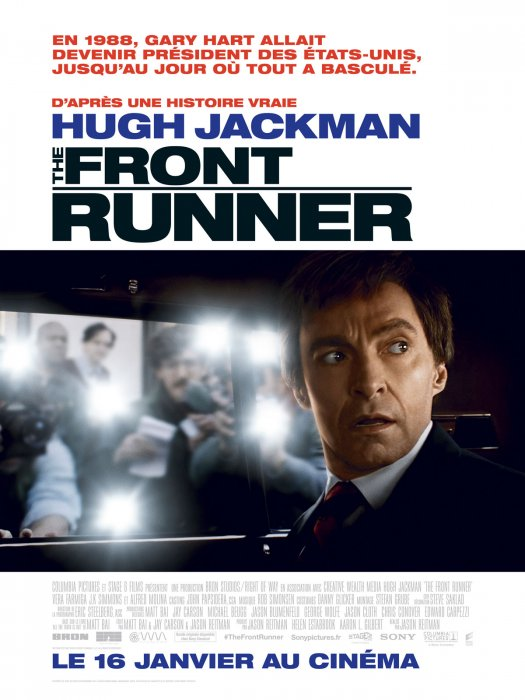 The front runner : Affiche