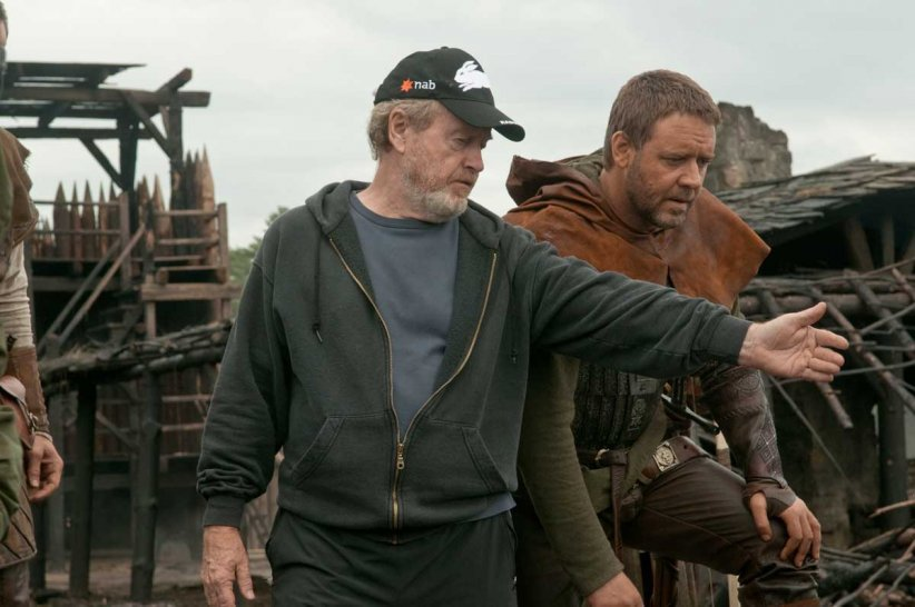 Robin des Bois : Photo Ridley Scott, Russell Crowe