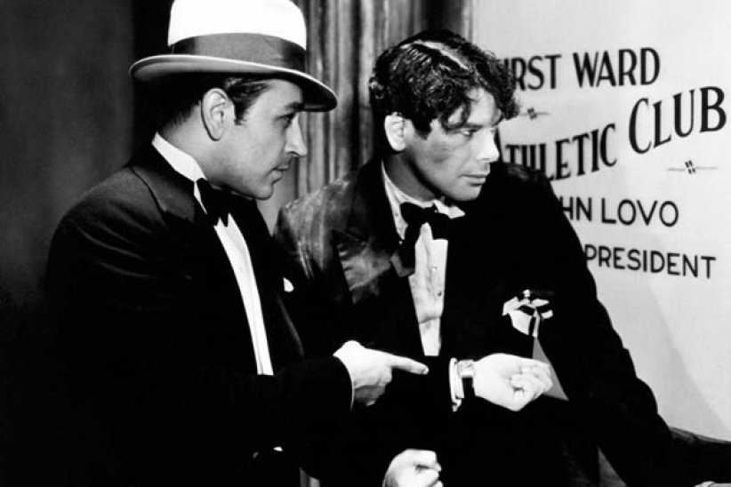 Scarface : Photo George Raft, Howard Hawks, Paul Muni