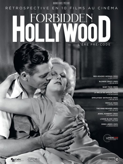 Forbidden Hollywood : Female : Affiche