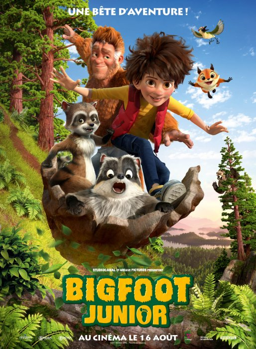 Bigfoot Junior : Affiche