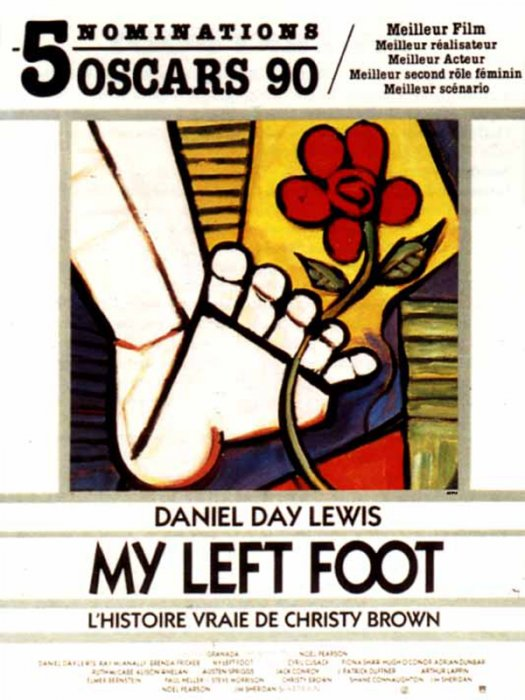 My Left Foot : affiche
