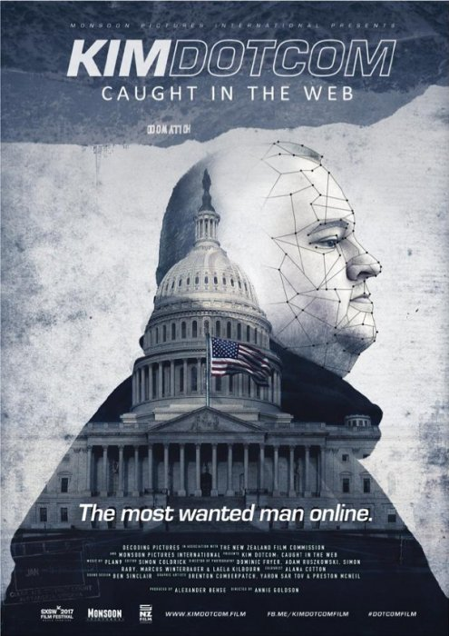 Kim Dotcom: Caught In The Web : Affiche