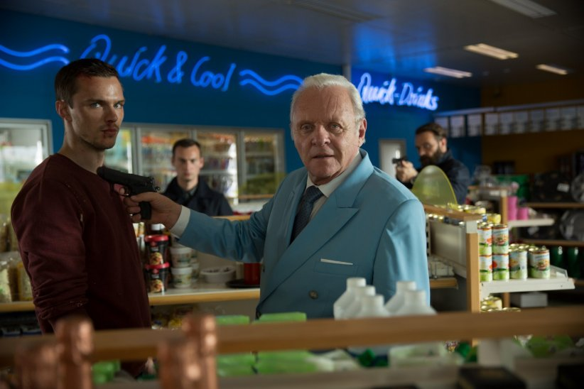No Way Out : Photo Anthony Hopkins, Nicholas Hoult
