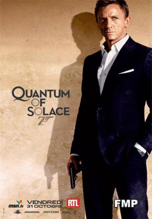 Quantum Of Solace : Affiche