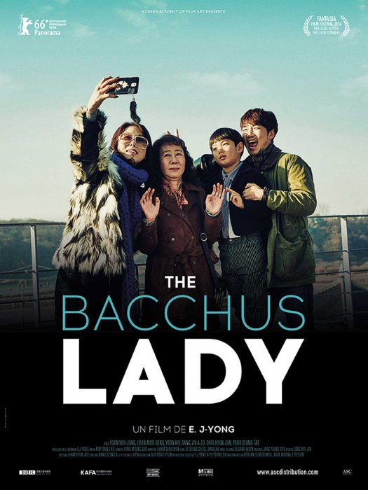 The Bacchus Lady : Affiche
