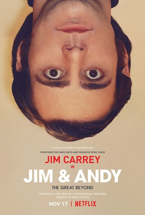 Jim et Andy : Affiche