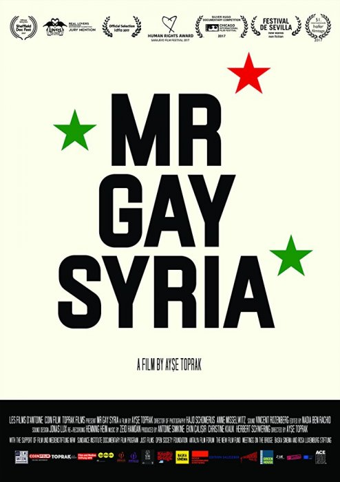 Mr. Gay Syria : Affiche