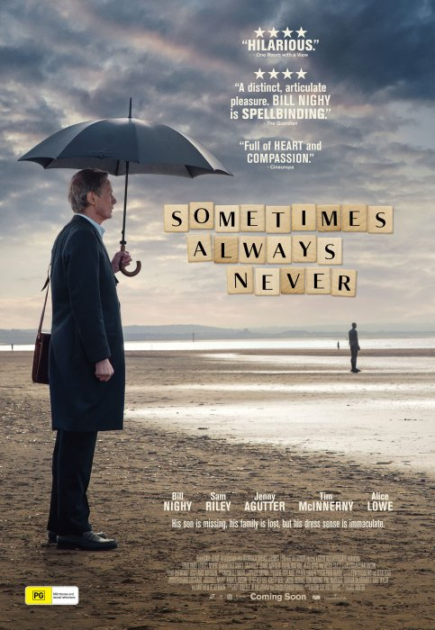 Sometimes Always Never : Affiche