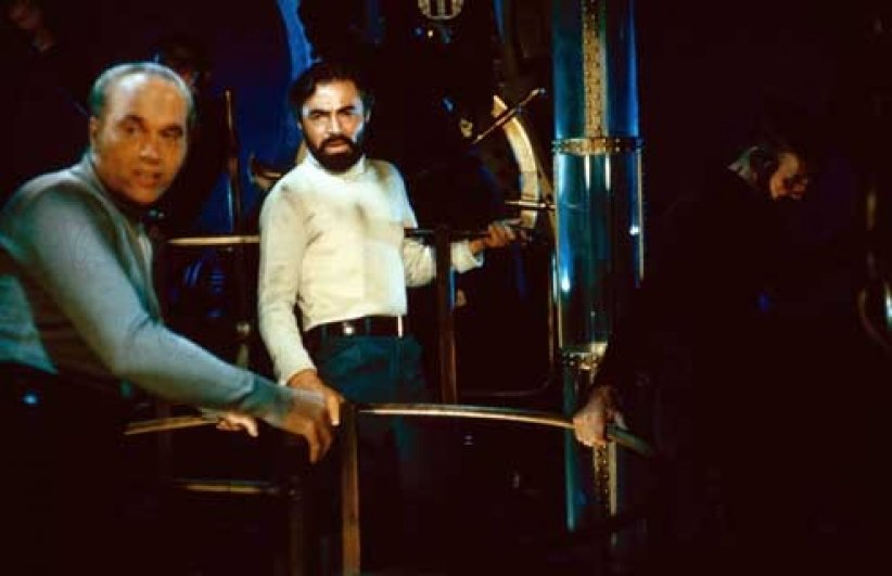 20.000 lieues sous les mers : photo James Mason, Richard Fleischer
