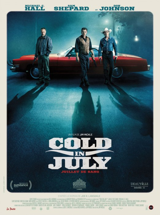 Cold in July : Affiche