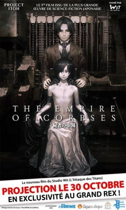 The Empire of Corpses : Affiche