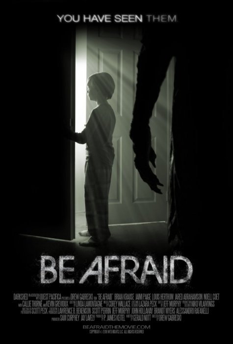 Be Afraid : Affiche