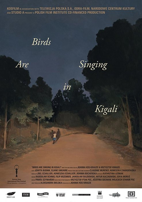Birds Are Singing in Kigali : Affiche