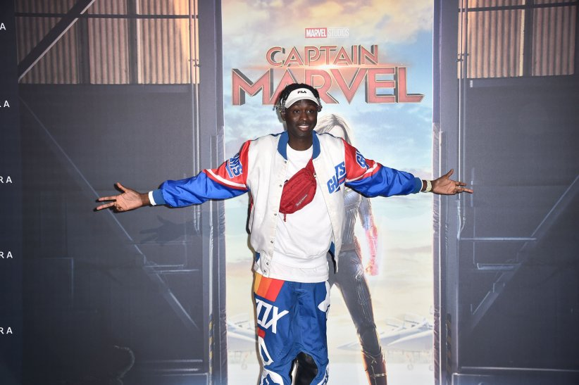 Captain Marvel : Photo promotionnelle Youssoupha Diaby