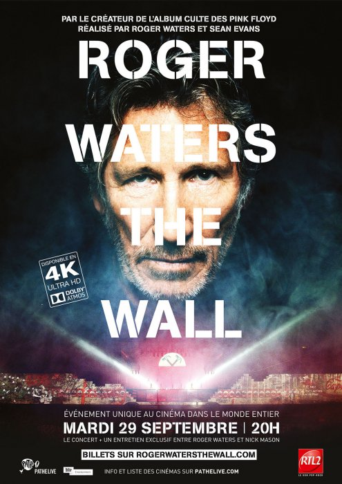 Roger Waters The Wall : Affiche