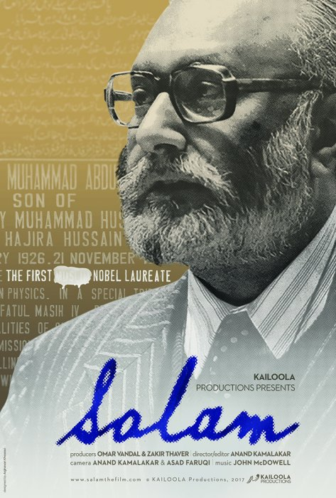 Salam - The First ****** Nobel Laureate : Affiche