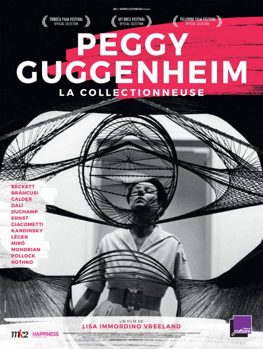 Peggy Guggenheim, la collectionneuse : Affiche