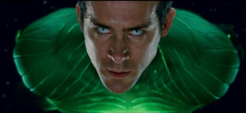 Green Lantern : Photo Ryan Reynolds
