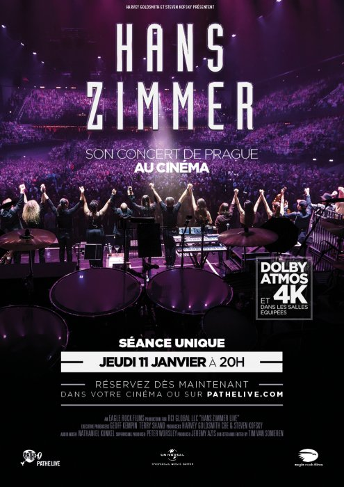Hans Zimmer - Live in Prague (Pathé Live) : Affiche
