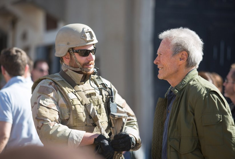 American Sniper : Photo Bradley Cooper, Clint Eastwood