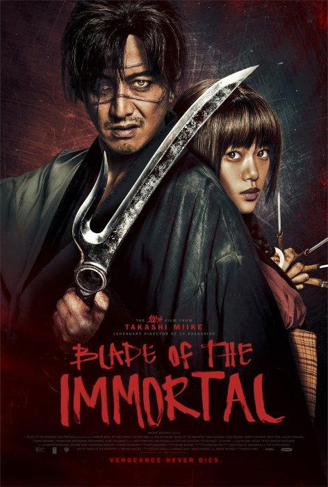 Blade of the Immortal : Affiche
