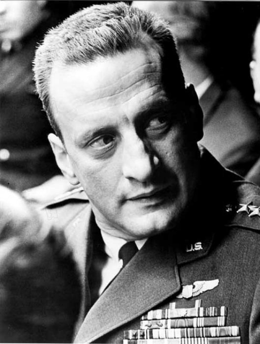 Docteur Folamour : Photo George C. Scott, Stanley Kubrick