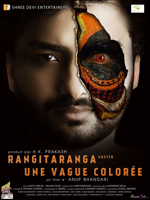 Rangitaranga - Une vague colorée : Affiche