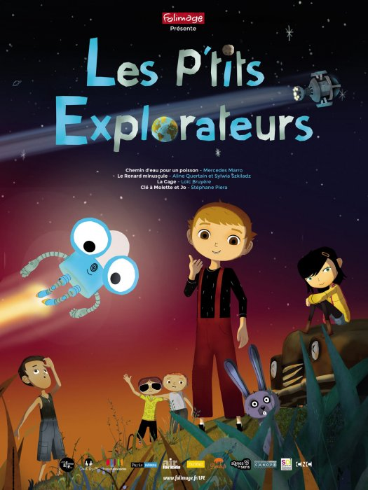 Les P'tits explorateurs : Affiche