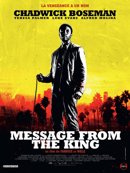 Message from the King : Affiche