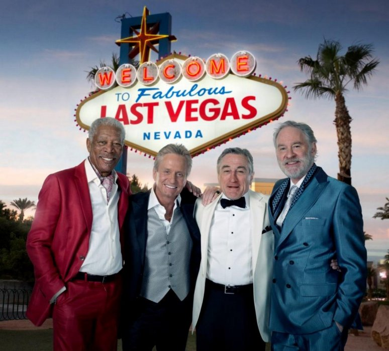 Last Vegas : Photo Kevin Kline, Michael Douglas, Morgan Freeman, Robert De Niro