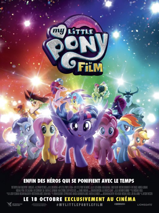 My Little Pony : le film : Affiche