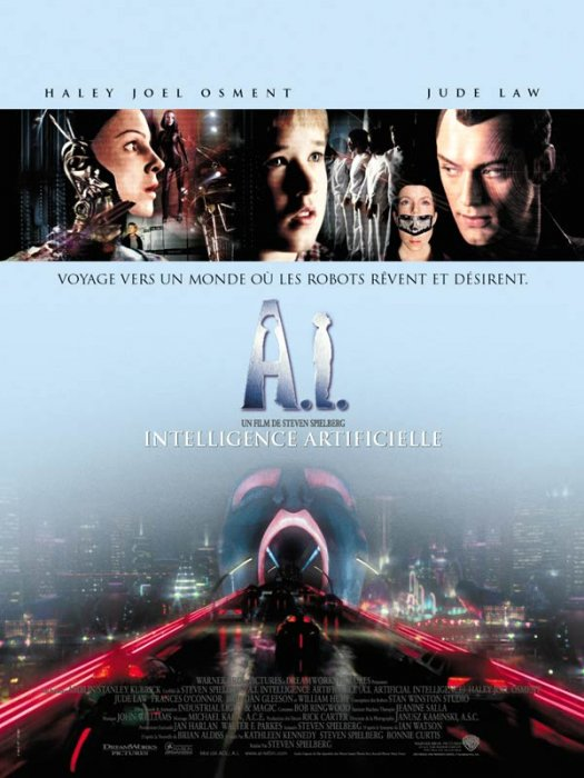 A.I. Intelligence artificielle : Affiche