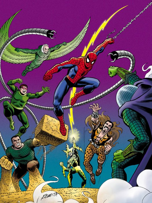 The Sinister Six : Affiche