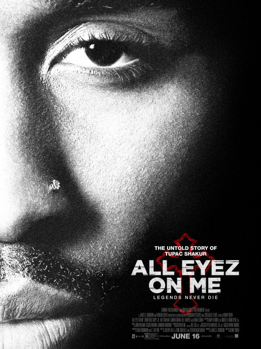 All Eyez On Me : Affiche