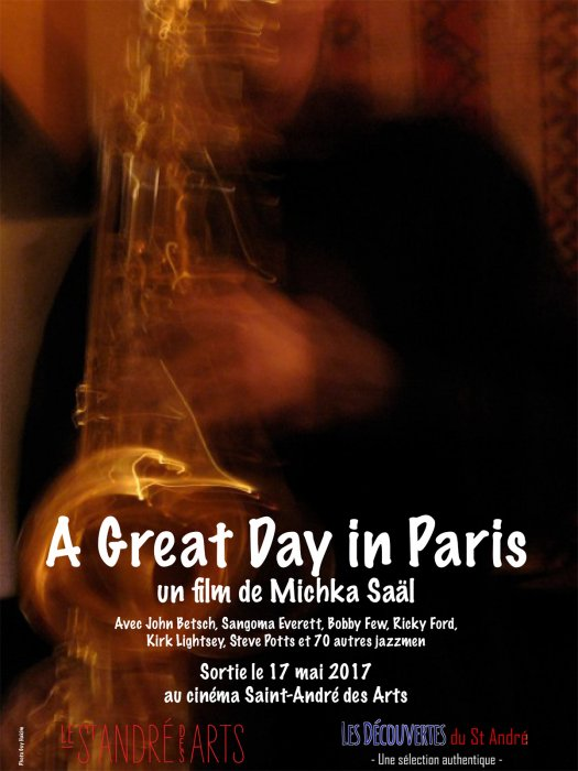 A Great Day in Paris : Affiche