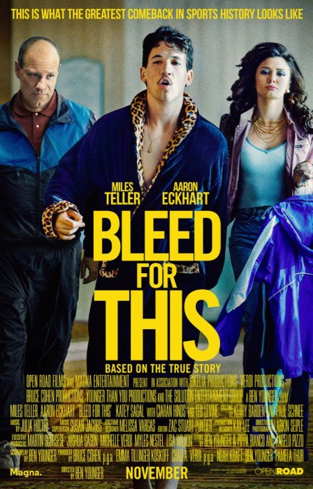 K.O. - Bleed For This : Affiche
