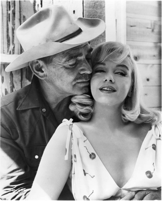 Les Désaxés : Photo Clark Gable, Marilyn Monroe