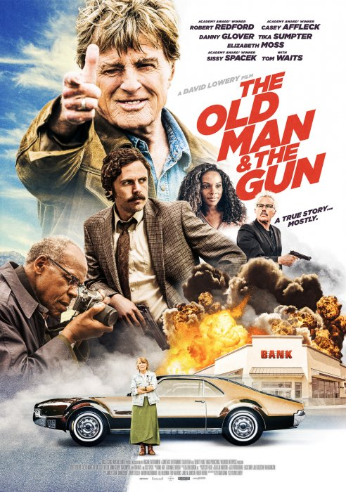 The Old Man & The Gun : Affiche