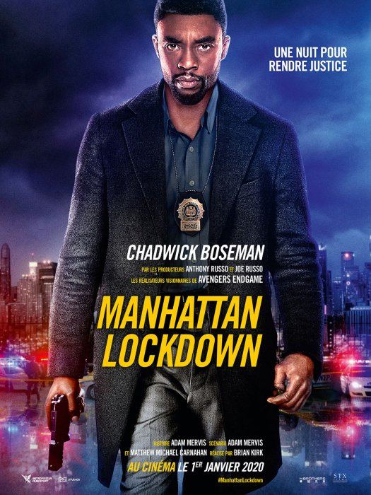 Manhattan Lockdown : Affiche